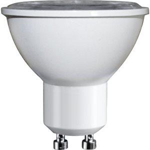 Ampoule DEL format GU10, 7 watts, 3000K, 40 degrés