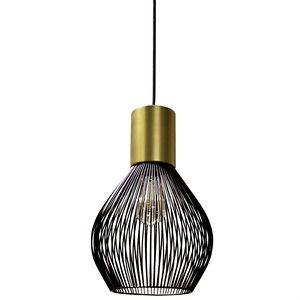 Luminaire suspendu, finition bronze vintage, 1 X A19