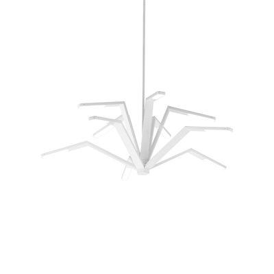 Luminaire suspendu, DEL, finition blanc mat, 95 watts, 3000K
