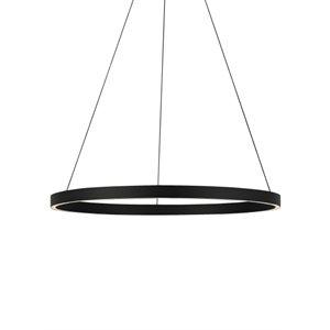 Luminaire suspendu, DEL, finition noire, 156 watts, 3000K