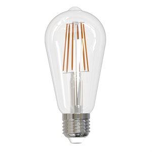 Ampoule DEL format ST19, 8 watts, 2700K