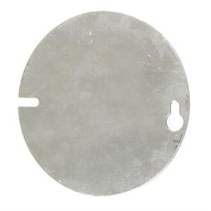 "LID FOR 4"" OCTAGONAL BOXES - PLAIN"