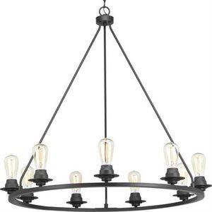 Luminaire suspendu, 9 X ST19