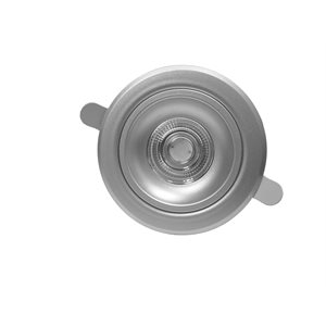 Encastré série 100, finition aluminium, 10 watts, 30 degrés