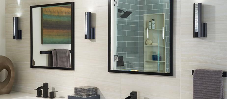 Luminaire mural parfait pour la salle de bain